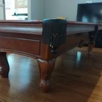 Stratford 8' Slate Pool Billiards Table