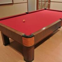 1939 Brunswick Pool Table