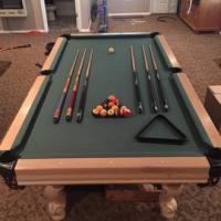 Atlantic Billiard Company Pool Table